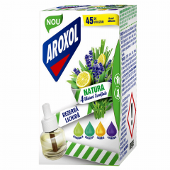 Rezerva lichida aparat electric anti tantari Aroxol Natura 45utilizari 45ml