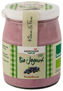 Iaurt ecologic cu afine Andechser Natur 150g