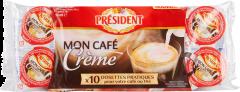 Lapte pentru cafea President 10x10g