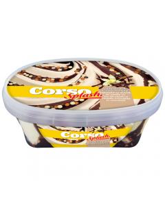 Inghetata cu vanilie si ciocolata Corso Splash 900ml
