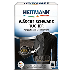Servetele pentru rufe cu vopsea neagra Heitmann 10buc