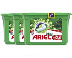 Detergent automat capsule Ariel PODS Plus Oxi Efect 54spalari 54buc