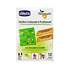 Plasturi colorati si parfumati cu ulei din Lemongrass si Eucalipt Chicco 3ani+ 12 buc/cutie
