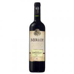 Vin rosu sec Domeniile Samburesti Merlot 0.75L