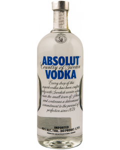 Votca 40% alcool Absolut Blue 1.75l