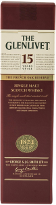 Whisky Scotian Singel Malt The Glenlivet 15 ani 700ml