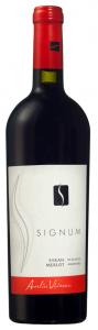 Vin rosu sec Signum Syrah Merlot 0.75L