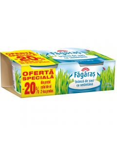 Branza de vaci cu smantana Fagaras Raraul 2x185g