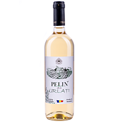 Vin alb demisec Pelin Urlati 0.75L