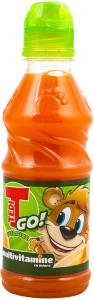 Suc de morcovi si fructe cu miere Tedi Go 300ml