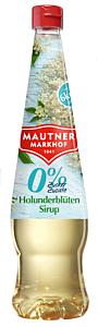 Sirop de flori de soc cu indulcitori Mautner Markhof 700ml