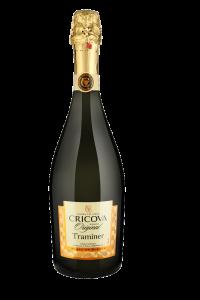 Vin spumant  demisec Cricova Traminer 0.75L