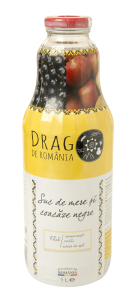 Suc de mere si coacaze negre Drag de Romania 1L