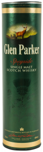 Whisky Speyside Single Malt Glen Parker 700ml