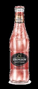 Cidru de mere Strongbow Red Berries 0.33L
