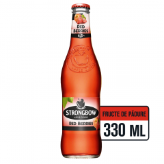 Cidru de mere Strongbow Red Berries 0.33L