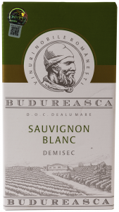 Vin Sauvignon Blanc DOC Dealul Mare Demisec Budureasca 2016 2L