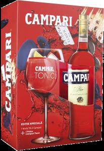Set cadou bitter Campari