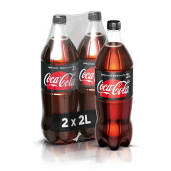 Bautura racoritoare carbogazoasa Zero Zahar pet Coca-Cola  2X2l