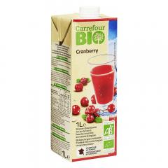 Nectar de merisoare Carrefour Bio 1l