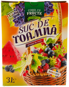 Suc de toamna presat la rece Cosul cu Fructe 3l
