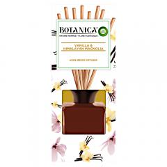 Odorizant cu betisoare vanilie si magnolie din Himalaya Botanica, 80ml