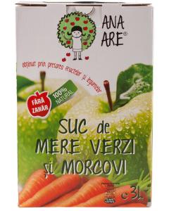 Suc de mere verzi si morcov Ana Are 3L