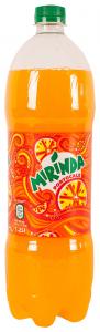 Bautura racoritoare carbogazoasa cu suc de portocale Mirinda 1.25L