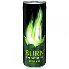 Bautura energizanta doza Burn Apple Kiwi 0.25l