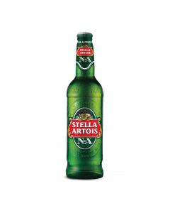 Bere blonda fara alcool Stella Artois N.A 0.33L