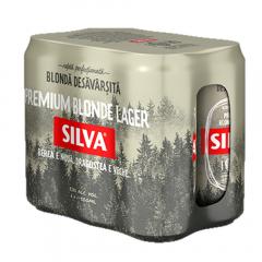 Bere Lager doza Silva 6x0.5l