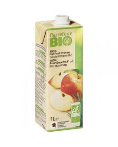 Suc de mere 100% natural Carrefour Bio 1l