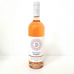Vin roze ecologic domeniul Bogdan demisec 0.75L