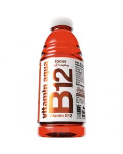 Bautura necarbogazoasa fortificata cu vitamina B12 Vitamin Aqua Merlin's 0.6l