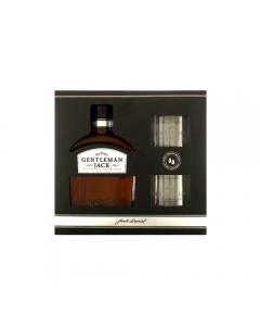 Pachet whisky cu 2 pahare Gentleman Jack 0.7l