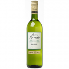 Vin fara alcool alb demisec Bonne Nouvelle 0.75l