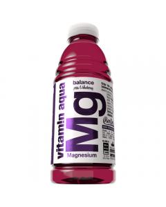Bautura  necarbogazoasa fortificata cu magneziu Vitamin Aqua Merlin's 0.6l