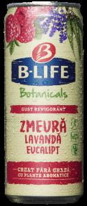 Bere cu aroma de zmeura fara alcool B-Life Botanicals 0.33 ml