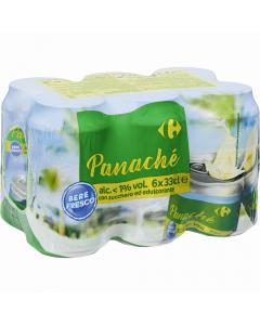 Bere Panache Carrefour 6x0.33l