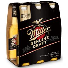 Bere blonda sticla Miller 6X0.33l
