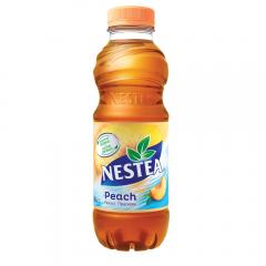 Bautura racoritoare necarbogazoasa cu suc piersica Nestea 0.5l