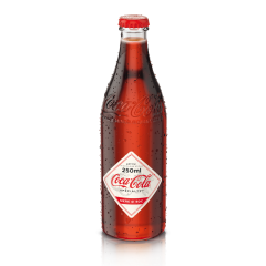 Bautura racoritoare carbogazoasa cu gust de mar si soc sticla Coca-Cola Specialty 0.25l