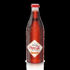 Bautura racoritoare carbogazoasa cu gust de caise si pin sticla Coca-Cola Specialty 0.25l