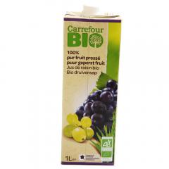 Suc din struguri BIO Carrefour 1l