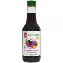 Suc din fructe de padure si catina Bio Profructta 0.25l