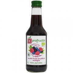 Suc din fructe de padure Bio Profructta 0.25l