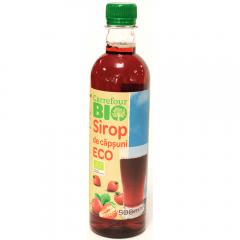Sirop de capsuni Bio Carrefour Bio 0.5l