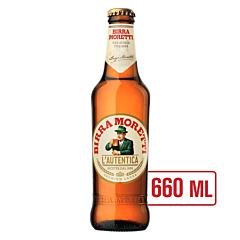 Bere blonda sticla Birra Moretti 0.66l