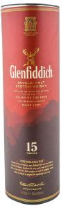 Whisky 40% Glenfiddch15YO 0.7L