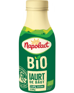 Iaurt de baut Bio 2.8%grasime Napolact 330g